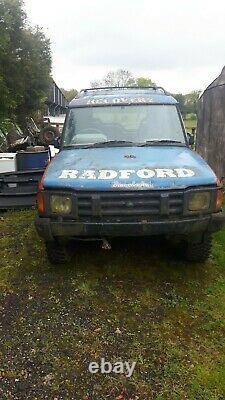 Land Rover 200tdi Discovery, Hors Route / Espares Ou Réparation, Ou Jouer À Quelque Chose