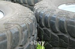 Land Rover 90/110 4x4 Roues En Acier Avec Large 10 Pneus Sur/hors Route 16 Jantes X 4