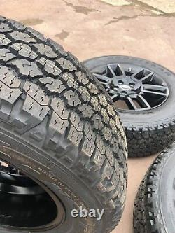 Land Rover Defender 2021 Black Gloss Alliages X5 Goodyear Wrangler Hors Roue Pneumatiques