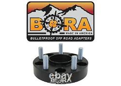 Land Rover Defender 2.00 Wheel Spacers (4) Par Bora Off Road Made In The USA