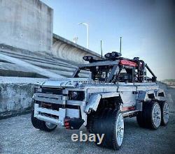 Land Rover Defender 6x6 Rhd Camion De Remorquage De Route Personnalisé Cmf Pour Lego Technic 42110