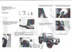Land Rover Defender 90 110 1984 2 Off Road Onwards Passage De Roue Kit Fusées Da2366