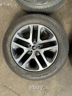 Land Rover Defender 90 110 L663 5095 Diamant Gris Tourné 20 Pneus De Roues En Alliage