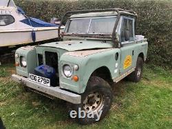 Land Rover Defender 90 Series 3 Pick-up Cage Truck Cab Off Road Rouleau 6 Point De Swb