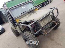 Land Rover Defender Tube Ailes Défi Wing Original Style Soudés Hors Route