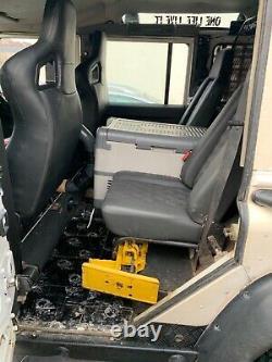 Land Rover Défenseur 110 Galv Châssis Cloison Hors Route 4x4 Swap Partie X