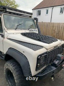Land Rover Défenseur 110 Gare Wagon 200tdi Galv Châssis Cloison Hors Route 4x4