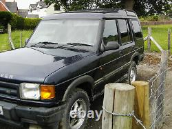 Land Rover Discovery 1997 300tdi Auto 5 Door Commercial Off Road Projet Sans Mot
