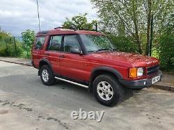 Land Rover Discovery 1999 Td5 127300miles Mot Jusqu'en Novembre 2021 Ideal Off Roader