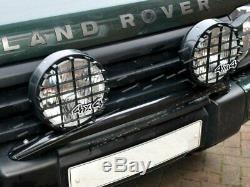 Land Rover Discovery 2 Pare-chocs Avant De La Lampe Spot Barre De Montage Y Compris Des Lumières