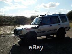 Land Rover Discovery 2 Td5 4x4 Off Road Mot Jusqu'à Novembre