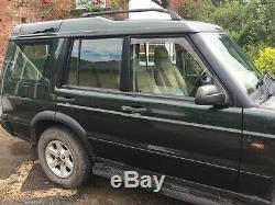 Land Rover Discovery 2 V8 État Incroyable Bas Miles Top Spec Off-road 4x4 Leat