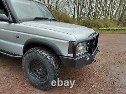 Land Rover Discovery 2 Winch Bumper'explorer' S'il Vous Plaît Lire Description Hors Route