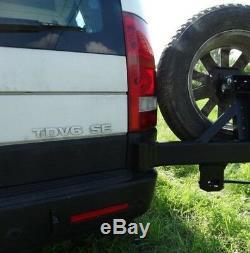 Land Rover Discovery 3 III De Support De Roue De Secours, Porte-hors-route