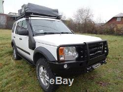 Land Rover Discovery III 3 Avant Acier Pare-chocs Treuil 4x4 Hors Route