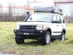 Land Rover Discovery III 3 Bumper En Acier Avant Treuil Hors Route 4x4
