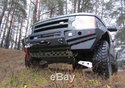 Land Rover Discovery III IV 3 Et 4 Au 15 Avril Front Bumper Acier Treuil Off -road