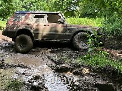 Land Rover Discovery Td5 Mods Hors Route Avec Treuil, Tuba, Pare-chocs En Acier Gardes