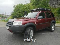 Land Rover Freelander 1 Td4 Lifted Snorkel Off Road Tyrrs