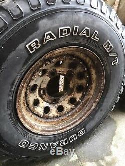 Land Rover Pneus Tout Terrain Et Des Roues