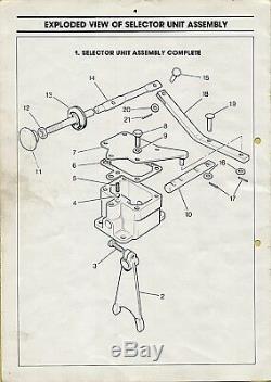 Land Rover Série Mécanique Power Take Off Et Le Sélecteur Kit Rtc8005