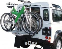 Landrover Defender Bike Rack De Pneu De Secours Véhicules Hors Route Porte-vélos