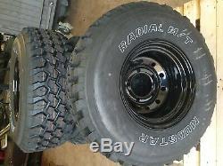 Landrover Disco 1 Off Road Roues Modulaire + 33 / Mt 12.50x15 Tires Découverte 1