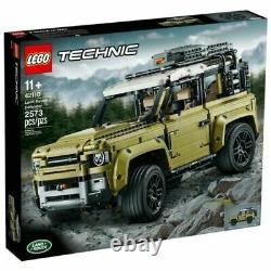 Lego 42110 Technic Land Rover Defender Off Road 4x4 Voiture, Collection Exclusive