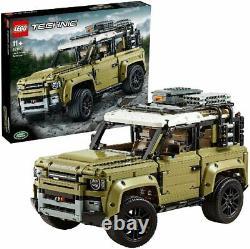 Lego 42110 Technic Land Rover Defender Off Road 4x4 Voiture, Enhanced Building Set