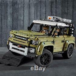 Lego Technic 42110 Land Rover Defender Off Road 4x4 Modèle De Voiture De Construction Jouet Set