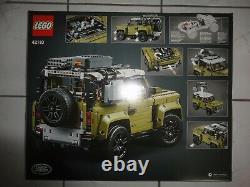 Lego Technic Modèle Off-road 42110 Land Rover Defender Neu Und Ovp