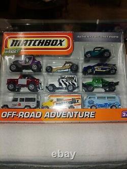 Matchbox 10 Pack Off Road Adventure Avec Land Rover Et Land Cruiser