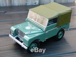 Minichamps 118'48 Land Rover Swb Vert Détaillée Toy Modèle De Voiture 4x4 Hors Route R01