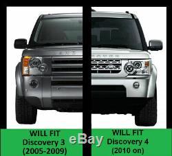 Off Kit Curseur Rocher Route Pour Land Rover Discovery 3 4 Barres D'arbres Marchepieds Latéraux Tubes