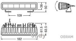 Osram Fernscheinwerfer Ledriving Lightbar Sx180 Leddl105-sp