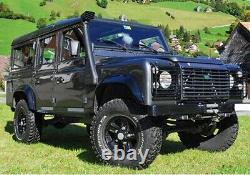 Raised Air Flow Intake Snorkel Kit Off Road Land Rover Defender 300tdi Td5 Puma