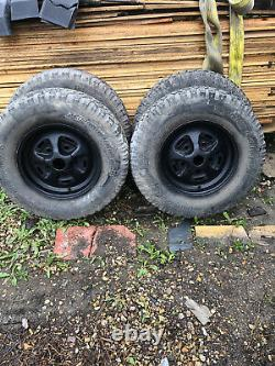 Range Rover Classic Land Rover Roues Rostyle Bf Goodrich Pneumatiques Hors Route 16 X4