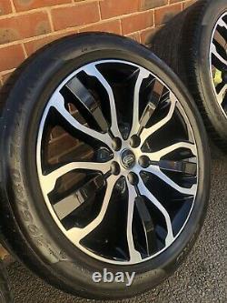 Range Rover Sport 21 Pouces Diamant Transformé Alliage Véritable Lr Roues Pirelli Pneus
