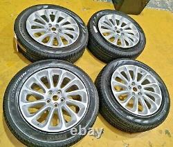 Range Rover Sport Alloy Wheels + Pneus 20 Pouces X 8.5j S Nouveau Décollage -lr098796