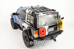 Rc Rock Crawler Camion Jeep 4x4 110 Échelle 4 Roues Motrices Off Road Land Rover Cherokee Voiture