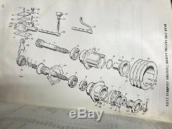 Série De La Rover Début De Prise De Force Power Take Off Made In England Rare 87 88 107 109