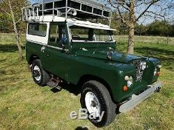 Série Landrover 2a 88 Overlander Camping 1967 Hors Expédition De Route Prêt À Bug