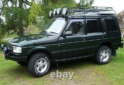 Snorkel D'entrée D'air Relevé Hors Route Pour Land Rover Discovery 1 300tdi V8 Non Abs