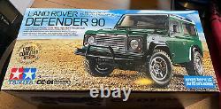 Tamiya R/c Land Rover Defender 90 4wd Off Road (58657) Avec Esc & Led