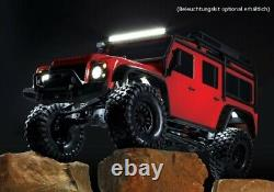 Traxxas 82056-4 Trx-4 Land Rover Defender Red 110 4wd Rtr Crawler Tqi 2,4ghz