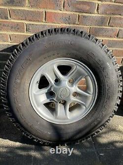 Véritable Land Rover Defender De Rechange Boost Alliage Pneus De Roue 235 85 R16 Décoller