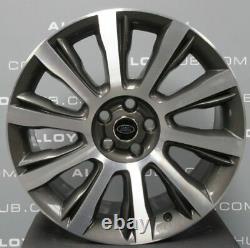 Véritable Range Rover Vogue L405 Style 1001 21inch Diamond Turned Alloy Wheels X4