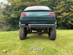 Voiture Du Projet Land Rover, Off Road, La Boue, Le Projet 4x4 Peugeot Project