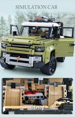 Vus De Défenseur De Terre Off-road %lego Compatibile Technique 2830 Pezzi